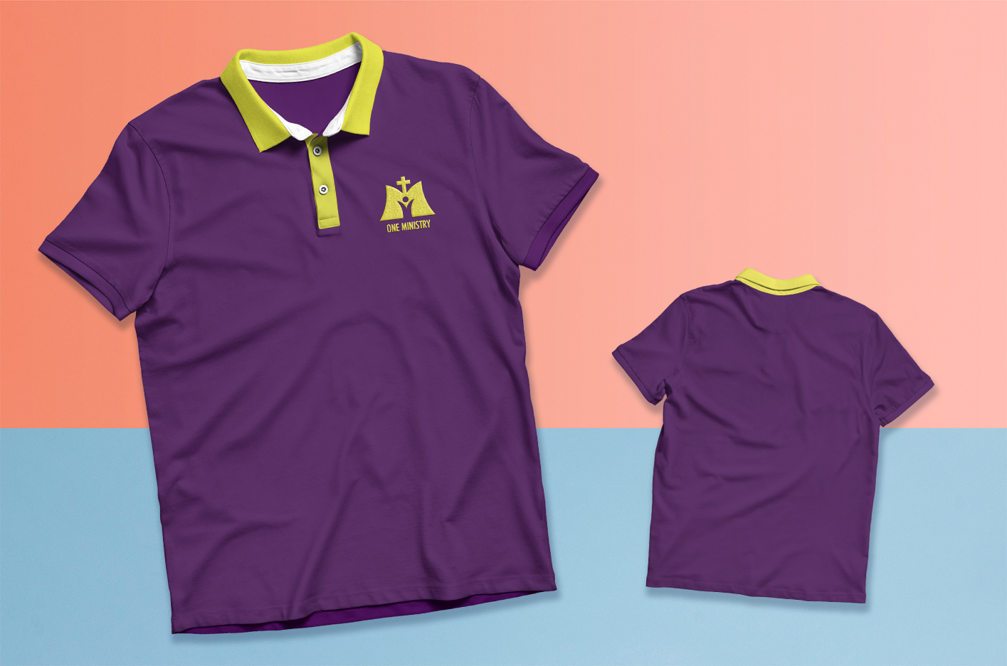 One Ministry Polo Shirt Design