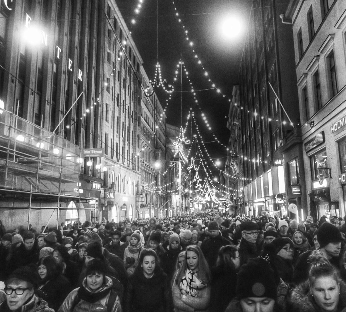 Follwers of Santa - Helsinki, Finland - 22 November 2015