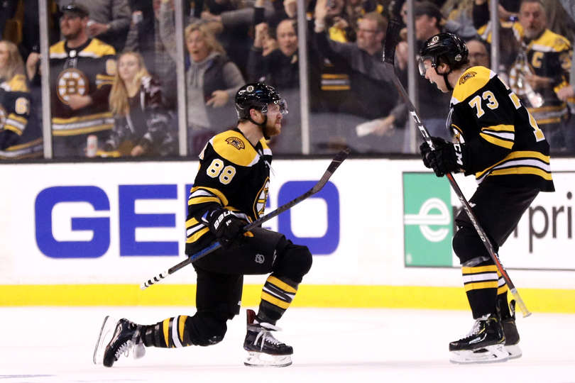 Boston Bruins: Slight changes to the lines for game one