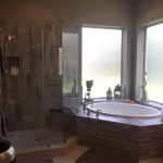 TriFection creates a calming retreat in a master bathroom suite in Cypress
