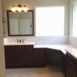 It's a marble-lous master bathroom for TriFection clients in Katy