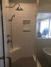 master bathroom Copperfield 2018 shower