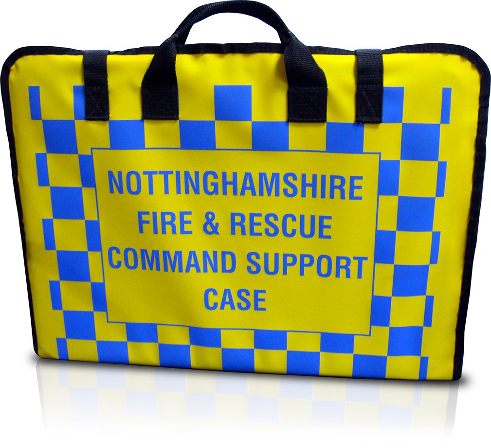 Customised Bespoke Bag for Nottinghamshire Fire and Rescue