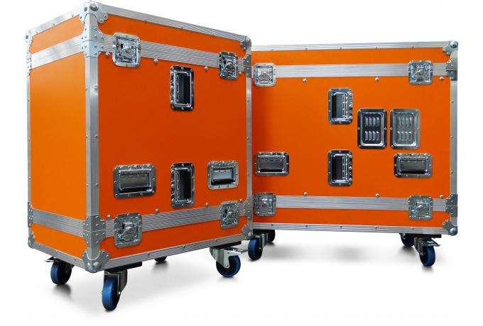 Orange Rack Flight Case