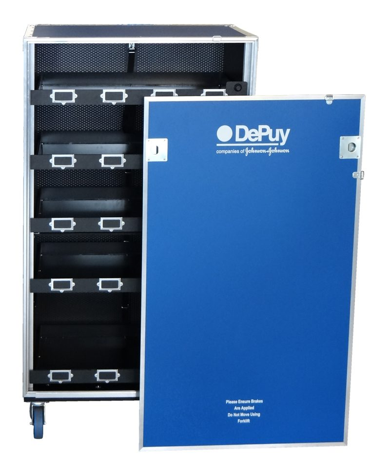 Screen Printing Flight Case for De Puy