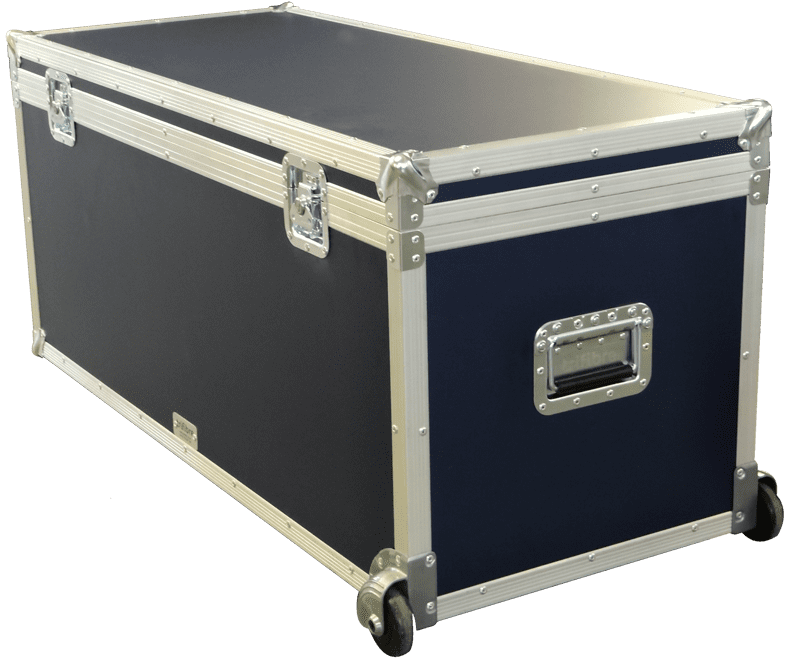 Navy Blue Coloured Flight Case