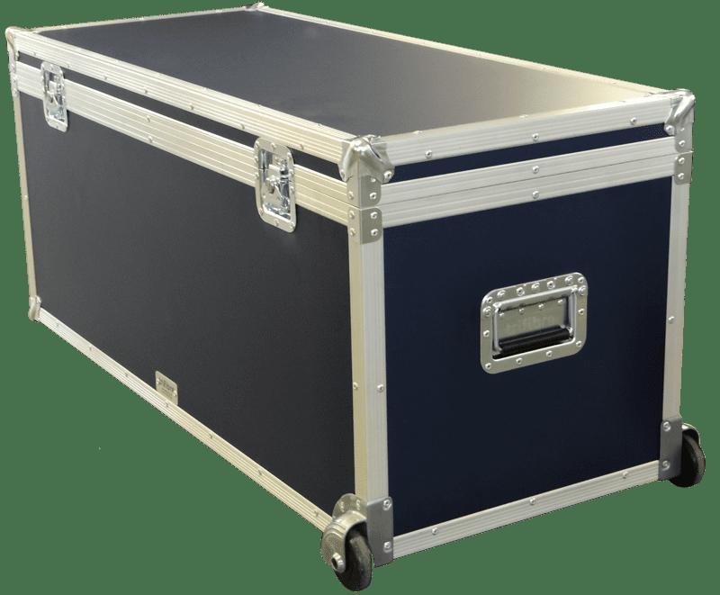 Navy Blue Coloured Flight Case