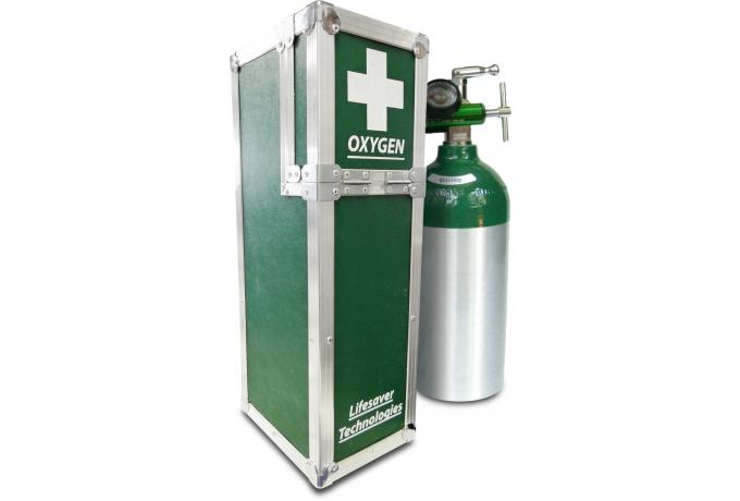 Flight Case for Oxygen Tank