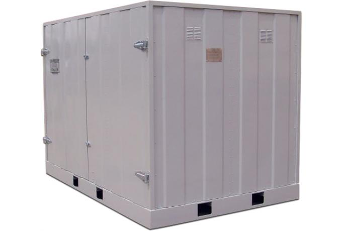 Aluminium Shipping Container for Marine Fenders