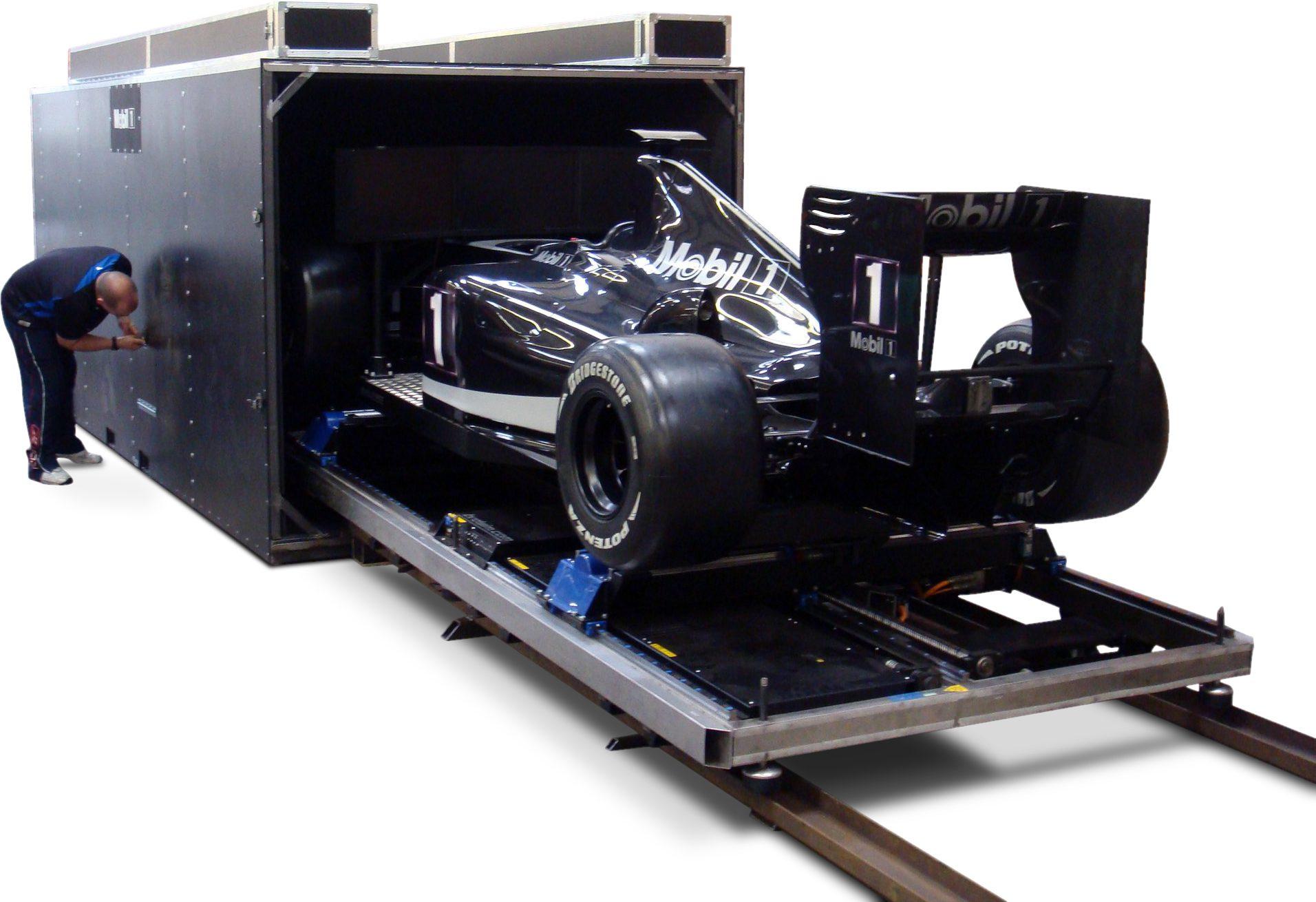 Flight Case for F1 Simulator Flight Case