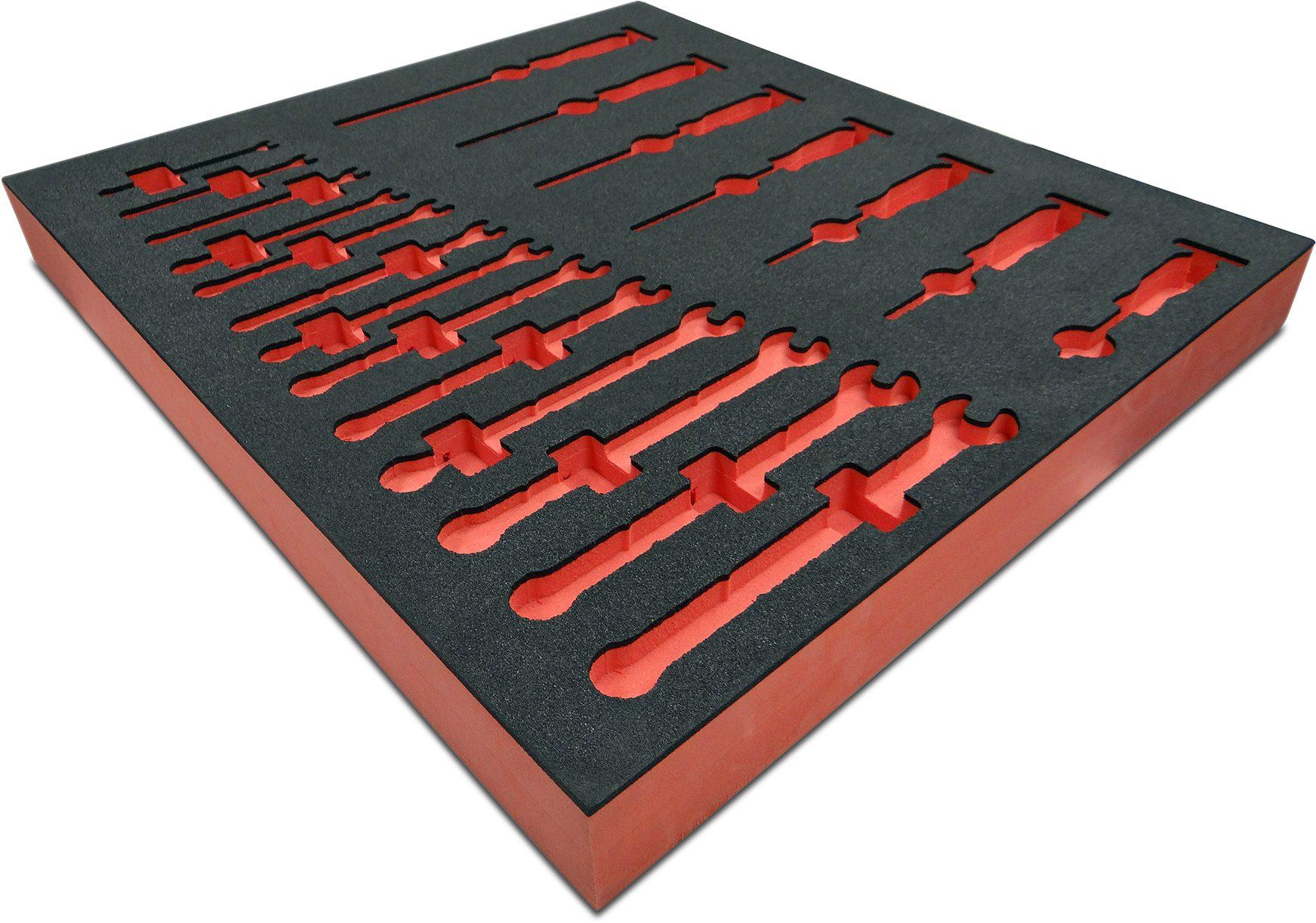 Routed Foam Shadow Board