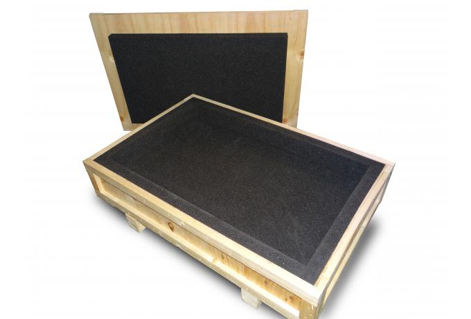 Custom Packing Crate with Foam