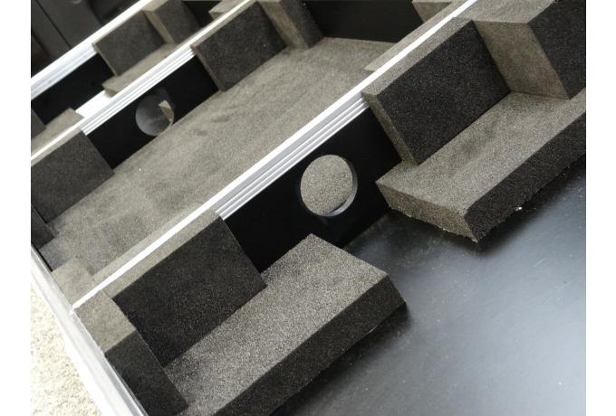 Foam interior for flight case
