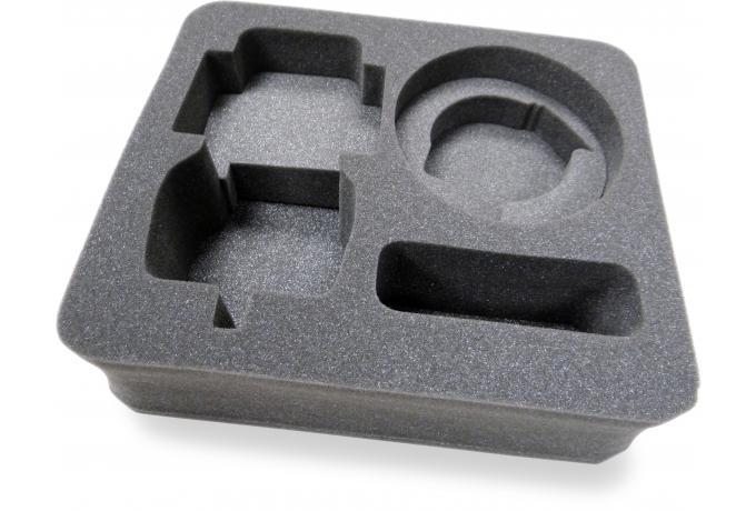 how to cut road case foam