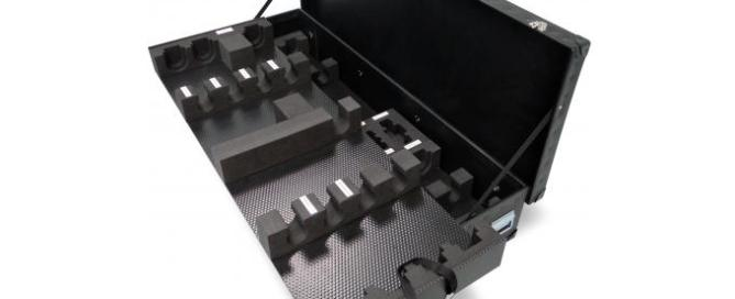 Bespoke foam interior for poly case