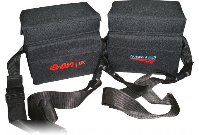 Bespoke padded bag with customised logo