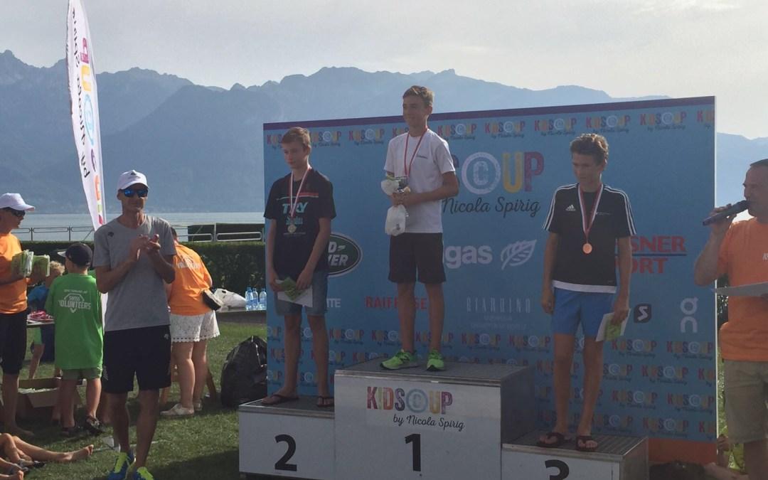 Les Jeunes brillent au Kids Triathlon de Vevey (27.8.17)
