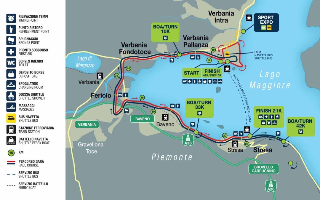 Lago Maggiore half marathon, Italia
