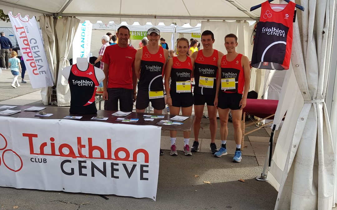 Le triathlon Club Genève à la Run2Run de Carouge