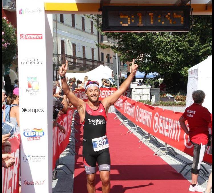 Lago di Mergozzo Half Ironman pour Matteo