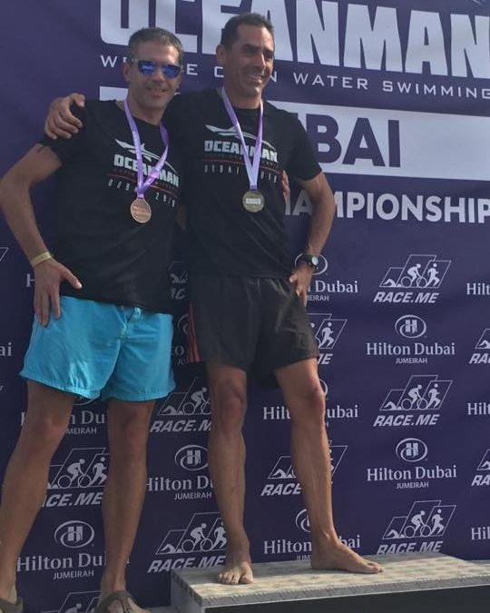 Grande performance au Oceanman Dubai pour SandroOcchilupo
