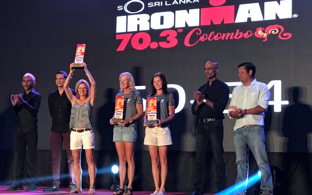 Joëlle Ettinger gagne au Sri Lanka