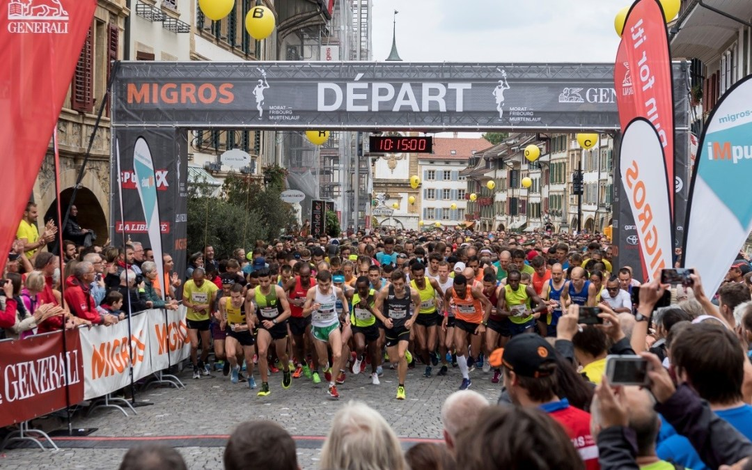 Morat-Fribourg: nos membres n'ont pas manqué cette course mythique