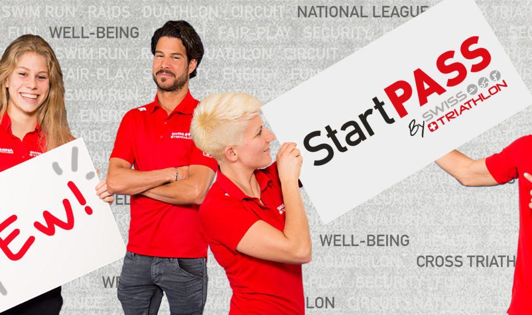 Commandez votre StartPASS Swiss Triathlon (ancienne licence annuelle) 2020!