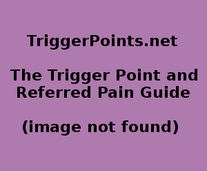Subscapularis Trigger Point Diagram