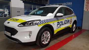 nuevo vehiculo policía local