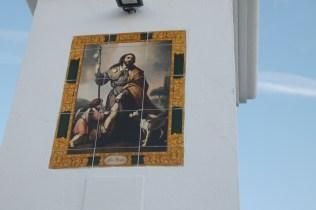 Bendición del azulejo de San Roqu