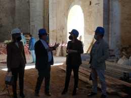 Visita a Trigueros de la delegada del Gobierno en Andalucía9