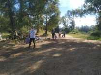 Limpieza en La Barranca