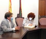 María Eugenia Limón visita Trigueros21