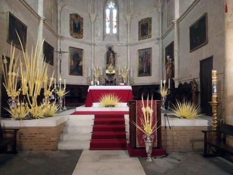 altar Domingo de Ramos