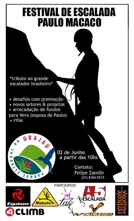 Festival de Escalada Paulo Macaco