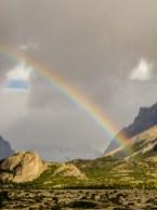 02 Arco Iris no caminho para piedra del fraile