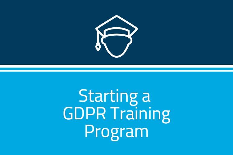 GDPR Training Program