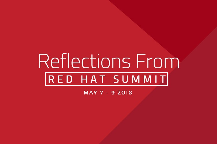 Reflections from Red Hat Summit 2018 Banner