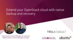Extend your OpenStack cloud with native backup and recovery
