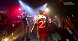 Nas Surprises Fashawn at The Ecology Album Release Party (Video)