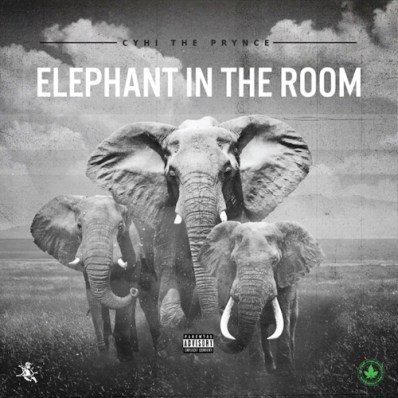 cyhi the prynce - elephant in the room good music kanye diss big sean pusha t