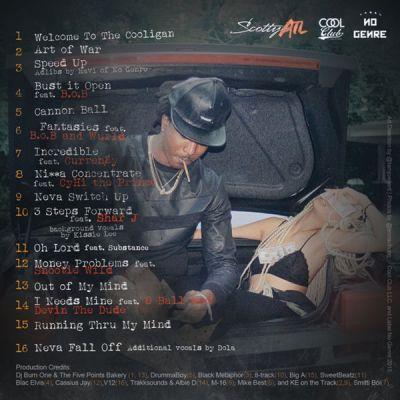 Scotty ATL - The Cooligan (Mixtape) back