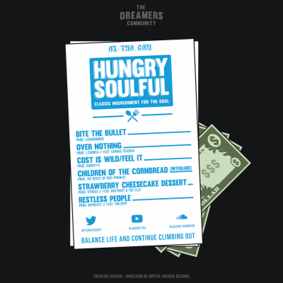 BlaccOut Garrison - Hungry Soulful (EP) back