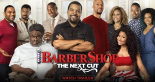 Barbershop: The Next Cut starring Ice Cube & Nicki Minaj