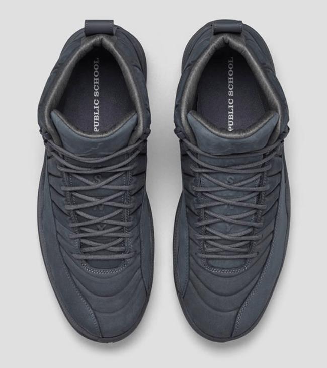 In Hand Sneaker Review Jordan 12 PSNY (Video) 4