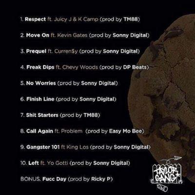 Wiz Khalifa - Cabin Fever 3 (Mixtape) back