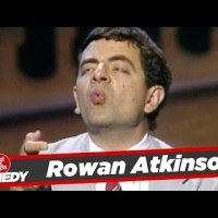 Rowan Atkinson aka Mr. Bean Stand Up #TBT