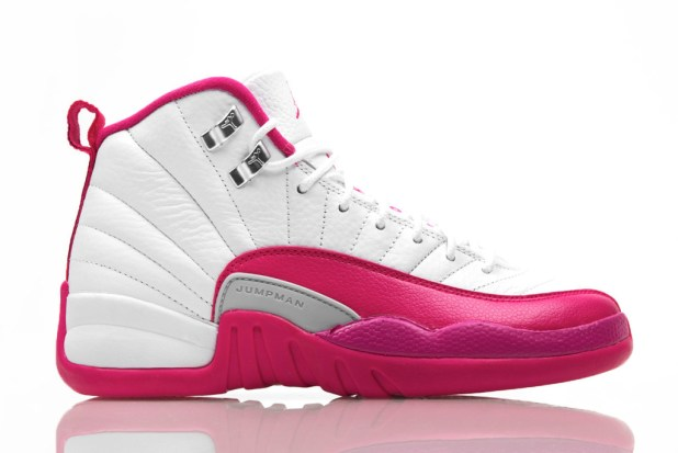 jordan 12 vivid pink 1