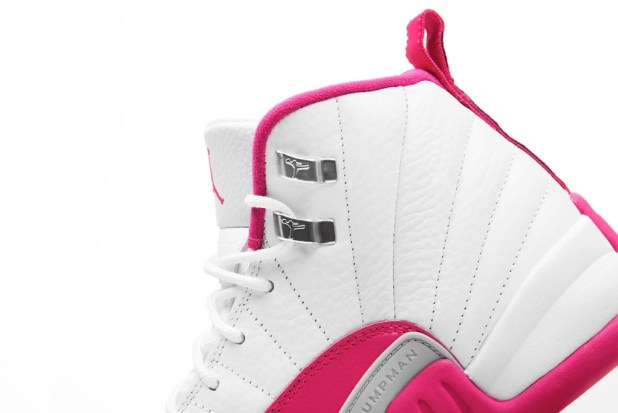 jordan 12 vivid pink 2